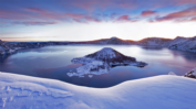 Snow Crater Lake, 1920 x 1080 ( 336.84 KB )